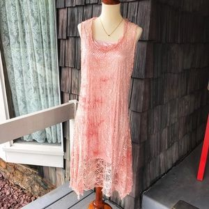 Dresses & Skirts - 2 piece Ombré Sundress with matching silky slip